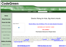scooterscodegreen.com