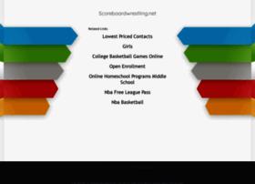 scoreboardwrestling.net
