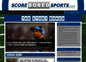 scoreboredsports.com