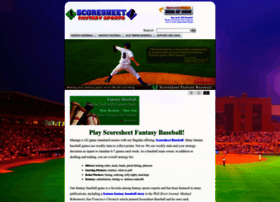 scoresheet.com