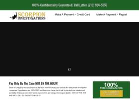 scorpioninvestigations.com