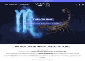 scorpions-store.com