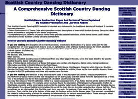 scottish-country-dancing-dictionary.com