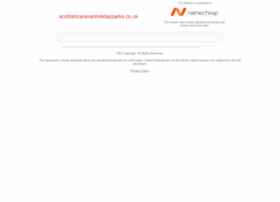 scottishcaravanholidayparks.co.uk