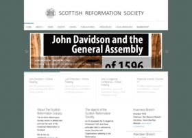 scottishreformationsociety.org