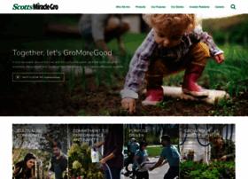 scottsmiraclegro.com