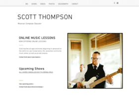 scottthompsonbass.com