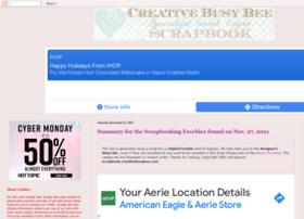scrapbook.creativebusybee.com