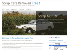 scrapcarsremovedfree.co.uk