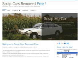 scrapcarsremovedfree.co.uk