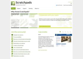 scratchpads.eu