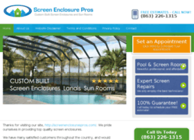 screenenclosurespros.com