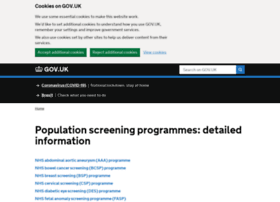 screening.nhs.uk