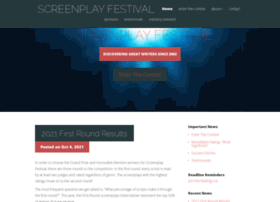 screenplayfestival.com