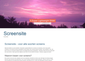 screensite.nl