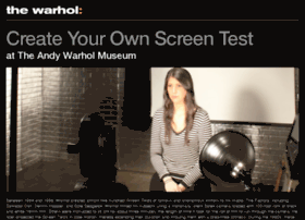 screentest.warhol.org