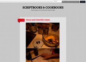 scriptbooksandcookbooks.tumblr.com