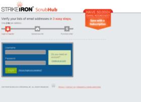 scrubhub.strikeiron.com