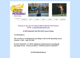 scshpickleball.com