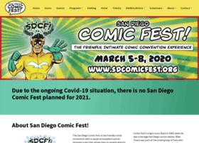 sdcomicfest.org