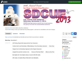 sdcue13.sched.org
