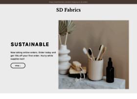 sdfabrics.com
