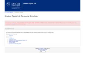 sdl-resource-scheduler.emory.edu