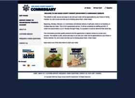sdsheriffcommissary.com