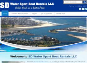 sdwatersportboatrentals.com