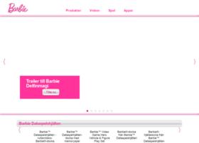 se.barbie.com