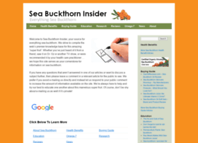 seabuckthorninsider.com