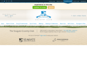 seagategolf.theseagatehotel.com