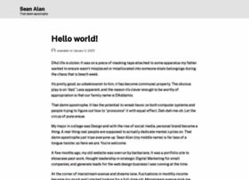 seanalan.com