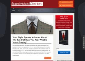 Seanmckeeclothiers.com