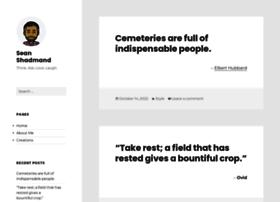 seanshadmand.com