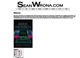 seanwrona.com