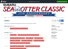 seaotterclassic2015.sched.org