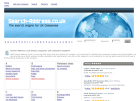 search-address.co.uk