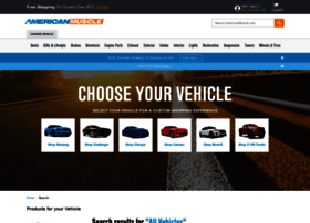 search.americanmuscle.com