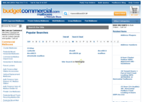 search.budgetcommercialmailboxes.com