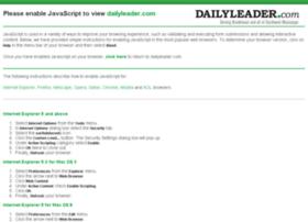 search.dailyleader.com