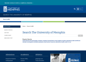 search.memphis.edu