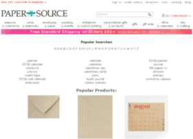search.papersource.com