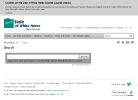 search.whitehorsedc.gov.uk