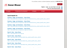 search.zaner-bloser.com