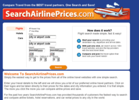 searchairlineprices.com