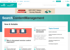 searchcontentmanagement.techtarget.com