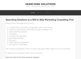 searchingsolutions.com