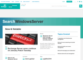 searchwindowsserver.techtarget.com