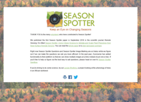 seasonspotter.org